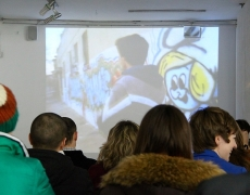 "17.02.13 – Presentation of students' TV-project ""In-Between"""