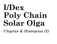 09.04.17 — Концерт: Poly Chain (UA), I/DEX, Solar Olga